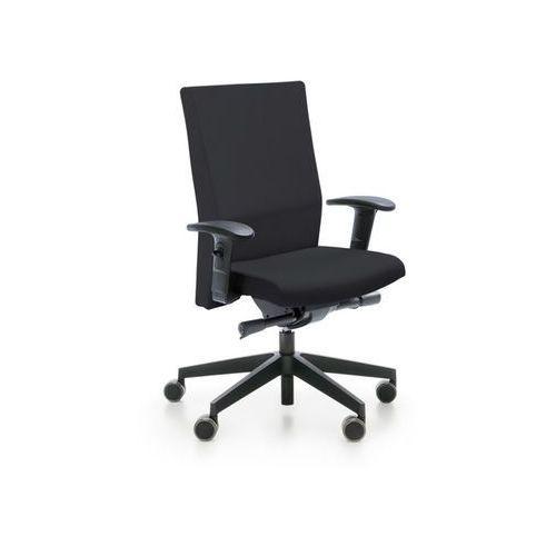 Fotele i krzesła biurowe, Fotel Playa 11 SL NX16 czarny bez podłokietników