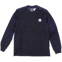 koszulka CONVERSE - Ls Tpu Tee Cuff Dark Obsidian Heather (A04) rozmiar: M