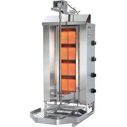 Gyros gazowy, wsad 70 kg, 14 kW, 510x590x1120 mm | POTIS, GD4