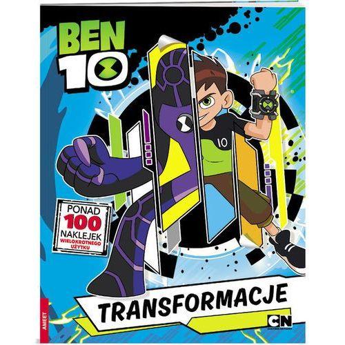 Książki dla dzieci, Ben10 Transformacje - Praca zbiorowa (opr. miękka)