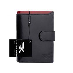 Skórzany portfel męski Kochmanski RFID stop 1203