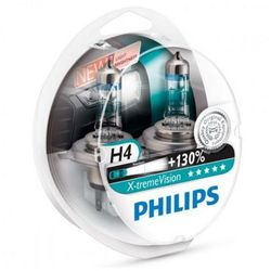 PHILIPS H4 12V 60/55W P43t-38 X-tremeVision +130 - Bezpłatny zwrot do 30 dni, największy wybór produktów.