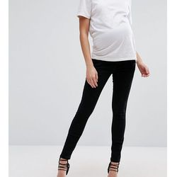 ASOS Maternity Ridley Skinny Jean In Clean Black With Over The Bump Waistband - Black