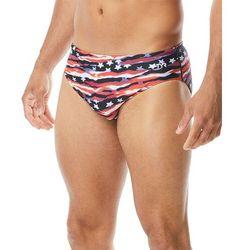 TYR All American Kąpielówki Mężczyźni, red/white/blue US 38 | DE 7 2020 Kąpielówki