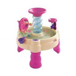 Wodny stół spiralny różowy