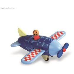 Janod Samolot drewniany magnetyczny