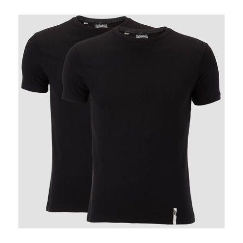 Pozostała moda, 2-Pak Klasycznych Koszulek Luxe - Czarna/Czarna - L