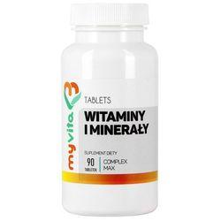 Witaminy i minerały - Complex 90 tabletek MyVita