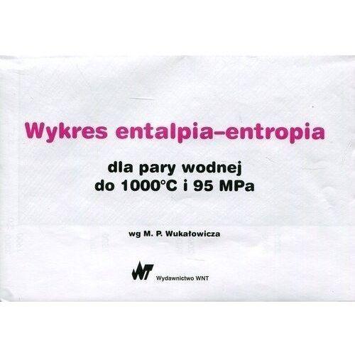 Pozostałe książki, Wykres entalpia-entropia dla pary wodnej do 1000st C i 95 Mpa (opr. miękka)