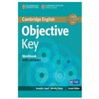 Książki do nauki języka, Objective Key Worbook with answers (opr. miękka)