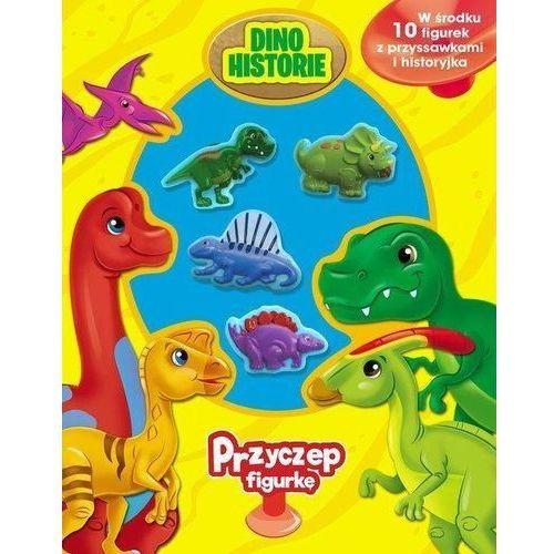 Książki dla dzieci, Przyczep figurkę Dinozaury - Praca zbiorowa (opr. twarda)