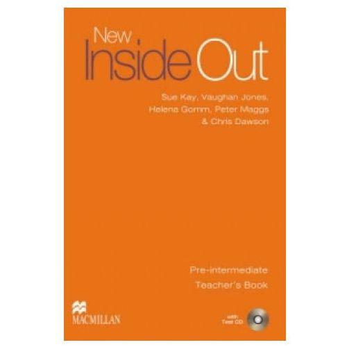 Książki do nauki języka, New Inside Out Pre-Intermediate. Książka Nauczyciela + Test CD (opr. miękka)