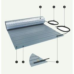 Mata Grzejna ELEKTRA WoodTec jednostronnie zasilana 70W/m2, 3m2