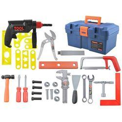 Skrzynka z narzędziami dla dzieci wiertarka młotek