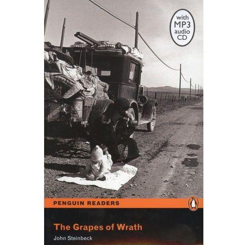 Książki do nauki języka, The grapes of wrath level 5 with CD (opr. miękka)