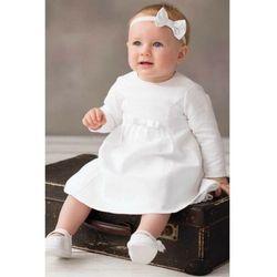 Sukienka niemowlęca do chrztu 6k40ck marki Balumi