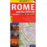Przewodniki turystyczne, Rome and the Vatican plan miasta 1:12 000 (opr. broszurowa)