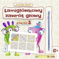Książki dla dzieci, Łamigłówkowy zawrót głowy cz.3 (opr. broszurowa)