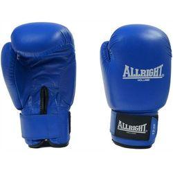 Rękawice bokserskie Allright PVC 10 oz niebieskie
