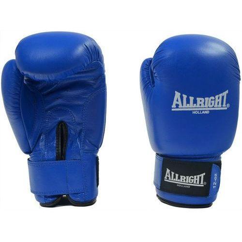 Rękawice do walki, Rękawice bokserskie Allright PVC 10 oz niebieskie