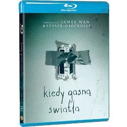 Kiedy gasną światła (Blu-Ray) - David F. Sandberg DARMOWA DOSTAWA KIOSK RUCHU