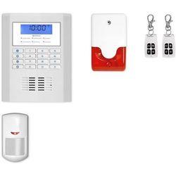 bezprzewodowy system alarmowy PROTECTA K0 + syrena 105 dB - Alarm bezprzewodowy PROTECTA K0 + syrena 105 dB