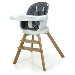 Krzesełko do karmienia 3w1 ORION 2020 Szare