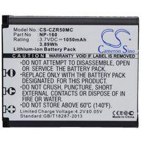 Akumulatory do aparatów, Casio Exilim EX-ZR50 / NP-160 1050mAh 3.89Wh Li-Ion 3.7V (Cameron Sino)