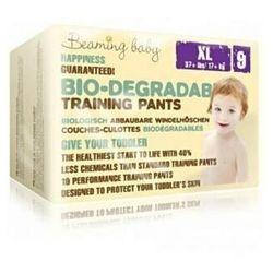 Biodegradowalne pieluchomajtki jednorazowe BEAMING BABY PANTS +17kg XLARGE 19szt.