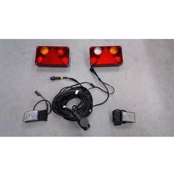 Zestaw oświetlenia LED do przyczepy 13pin 12V-24V WIOLA II.4