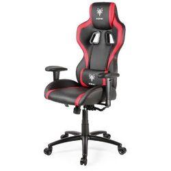 Fotel dla gracza Gembird Hornet (czarno-czerwony)