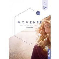 Książki do nauki języka, Momente a1.1 ab hueber (opr. broszurowa)