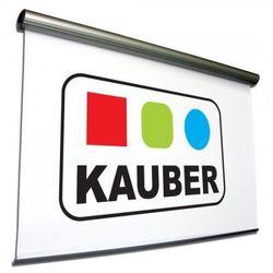 Ekran elektrycznie rozwijany Kauber MIDKING 650x487cm, 4:3/16:9 White Ice