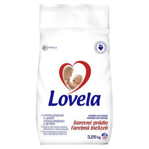 Proszki do prania, Lovela Proszek do prania hipoalergiczny do koloru 3,6 kg