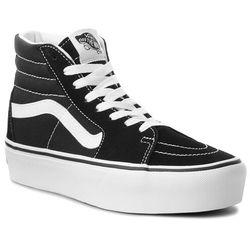 Sneakersy VANS - Sk8-Hi Platform 2 VN0A3TKN6BT Black/True White