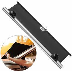 Baseus samochodowa roleta żaluzja przeciwsłoneczna na szybę do auta 58 cm x 140 cm srebrny (CRZYD-A0S) - Srebrny