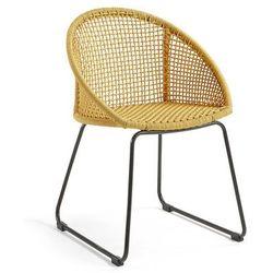 Krzesło ogrodowe LORETO musztardowe - żółty La Forma - 15% część 3 (-15%)