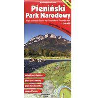 Mapy i atlasy turystyczne, PIENIŃSKI PARK NARODOWY MAPA TURYSTYCZNA 1:20 000 MAPA WODOODPORNA (opr. broszurowa)