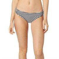Stroje kąpielowe, strój kąpielowy FOX - Jail Break Lace Up Btm Black/White (018) rozmiar: XS