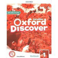Książki do nauki języka, Oxford discover 1 workbook with online practice - praca zbiorowa (opr. broszurowa)