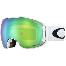 Gogle narciarskie Oakley AIRBRAKE XL Polished White Prizm Jade & Prizm Sapphire OO7071-09