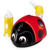 Inhalatory i nebulizatory, Inhalator FLAEM NUOVA Lella La Coccinella Biedronka + Zamów z DOSTAWĄ JUTRO! + DARMOWY TRANSPORT!