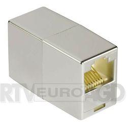 Hama 045047 adapter sieciowy CAT5 2x8p8c