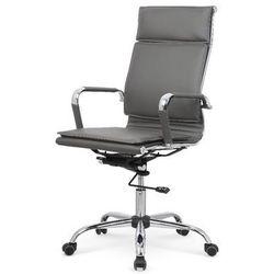 Nestor fotel gabinetowy popielaty