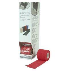 VET-Flex opaska samoprzylepna 5 cm x 4,5m opakowanie 10 szt czerwone