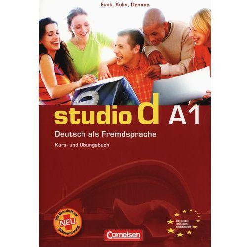 Książki do nauki języka, Studio d A1 Podręcznik z ćwiczeniami+Cd (opr. miękka)