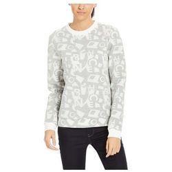 bluza BENCH - Jacquard Sweatshirt Typo Jacquard Aop (P1105) rozmiar: S