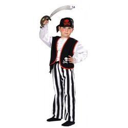 Pirat z kamizelką przebrania i kostiumy dla dzieci - 134 cm