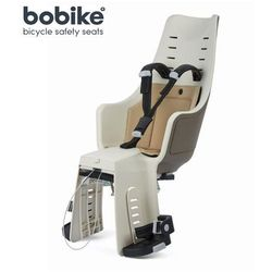 Fotelik rowerowy na tył Bobike Maxi Exclusive - Safari Chic