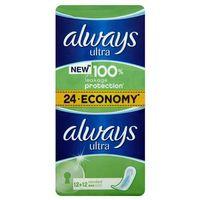 Podpaski, Always Ultra Standard Podpaski higieniczne 24 sztuki